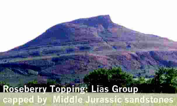 Description: Description: Description: Description: Description: Description: Description: Description: Description: Description: Description: Description: Description: Roseberry Topping: Middle Jurassic deltaic sandstones capping the Lower Jurassic Lias Group