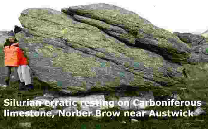 Description: Description: Description: Description: Description: Silurian erratic on top of Carboniferous limestone, Norber Brow near Austwick, Yorkshire Dales